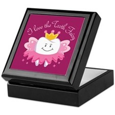 I Love The Tooth Fairy Keepsake Box