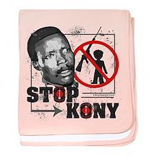 Stop Kony baby blanket