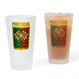 &quot;Portuguese Gold&quot; Drinking Glass