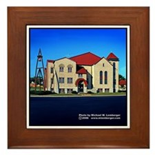 First Christian Church Framed Tile