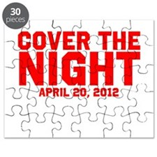 Cover the night Kony 2012 Puzzle
