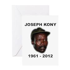 Kony 2012 Obituary Greeting Card