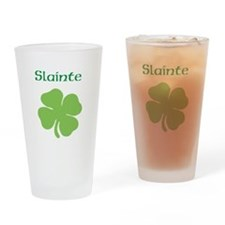 Irish Toast Drinking Glass