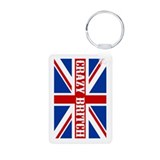 Crazy Britch Aluminum Photo Keychain