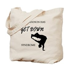 My grandson get down male dancer Tote Bag
