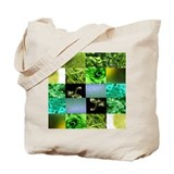 Green Photography Collage Tote Bag