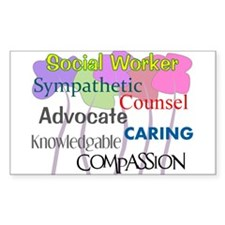 Social Worker Decal