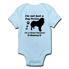 Great Pyrenees Mommy Infant Bodysuit