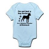 Miniature Pinscher Mommy Infant Bodysuit