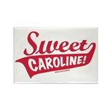 Sweet Caroline Boston Rectangle Magnet