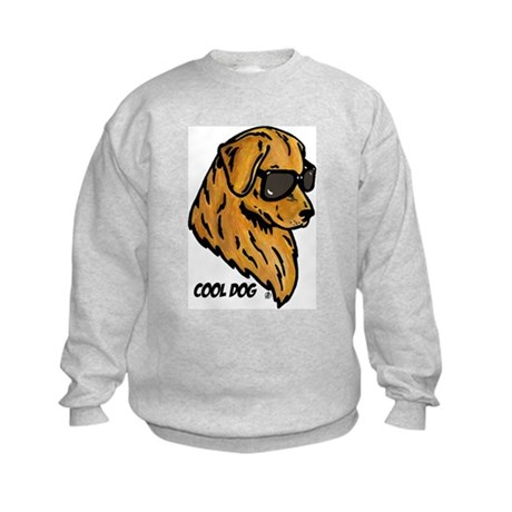 Cool Dog Kids Sweatshirt