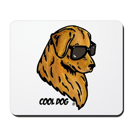 Cool Dog Mousepad