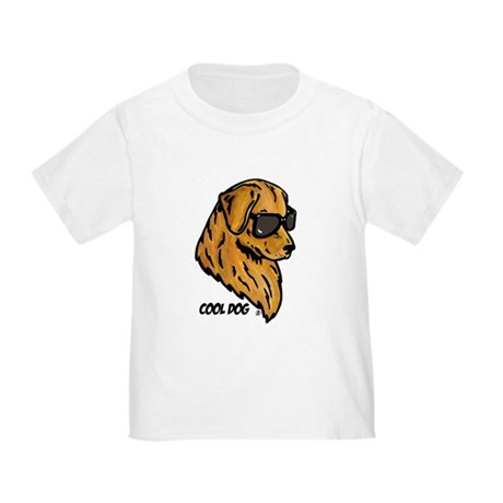 Cool Dog Toddler T-Shirt