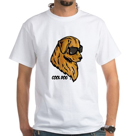 Cool Dog White T-Shirt