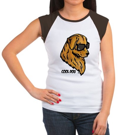 Cool Dog Women's Cap Sleeve T-Shirt