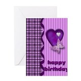 Happy Birthday Butterfly Greeting Card