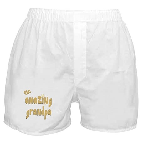 The Amazing Grandpa Boxer Shorts
