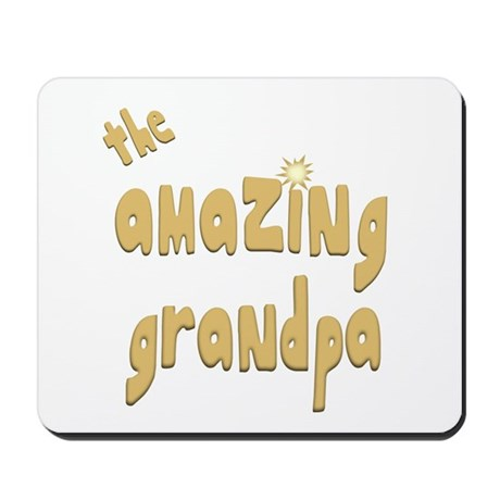 The Amazing Grandpa Mousepad
