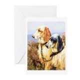 Cute English setters Greeting Cards (Pk of 10)