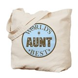 Aunt Gift World's Best Tote Bag