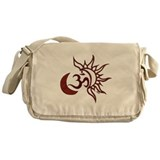 Celestial Om Messenger Bag