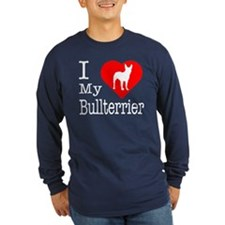 I Love My Bullterrier T