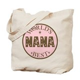 Nana Gift World's Best Tote Bag