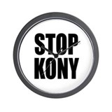 Stop Kony Wall Clock