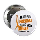 "I Wear Orange 37 MS 2.25"" Button (10 pack)"