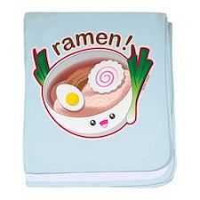 Ramen! baby blanket