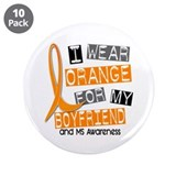 I Wear Orange 37 MS 3.5&quot; Button (10 pack)