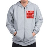 I Hated Kony Before It Was Cool Zip Hoody