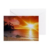 Hawaiian Sunset Greeting Cards (Pk of 10)
