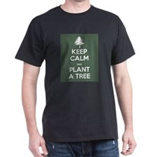 Keep Calm & Plant a Tree - T-Shirt