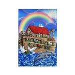 Noah's Ark Rectangle Magnet (10 pack)