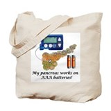 Cute Insulin pump Tote Bag