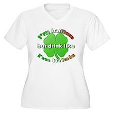 Funny Green shamrock T-Shirt