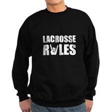 Lacrosse Rules Sweatshirt