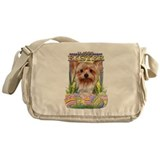 Easter Egg Cookies - Yorkie Messenger Bag