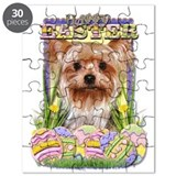 Easter Egg Cookies - Yorkie Puzzle