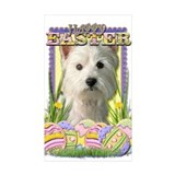 Easter Egg Cookies - Westie Decal