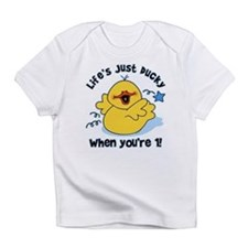 Life's Ducky 1st Birthday Infant T-Shirt