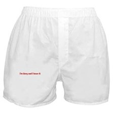 Sex mens hot women Boxer Shorts