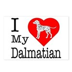 I Love My Dalmatian Postcards (Package of 8)