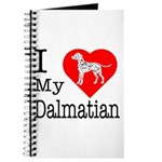 I Love My Dalmatian Journal