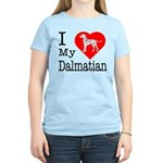 I Love My Dalmatian Women's Light T-Shirt
