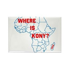 Kony Rectangle Magnet