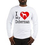 I Love My Dalmatian Long Sleeve T-Shirt