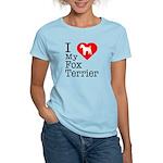 I Love My Fox Terrier Women's Light T-Shirt