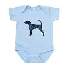 Blue Tick Coonhound Infant Bodysuit